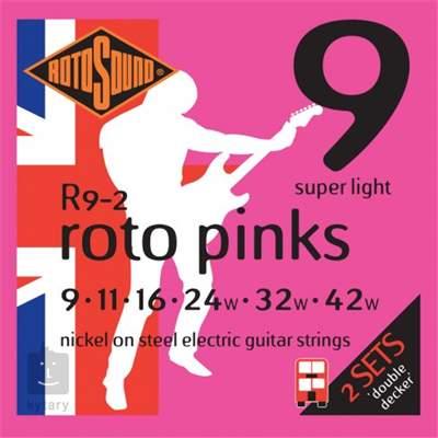 ROTOSOUND R9-2 Struny pro elektrickou kytaru