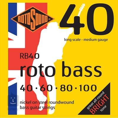 ROTOSOUND RB40 Struny pro baskytaru