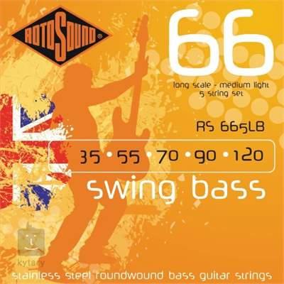 ROTOSOUND RS665LB Struny pro pětistrunnou baskytaru