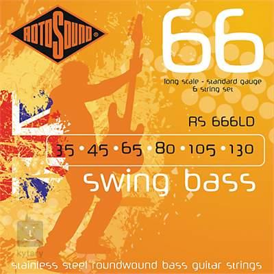 ROTOSOUND RS666LD Struny pro šestistrunnou baskytaru