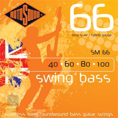 ROTOSOUND SM66 Struny pro baskytaru