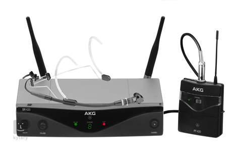 AKG WMS 420 Headset/B1 Bezdrátový hlavový set