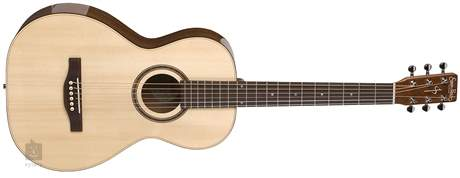 SIMON & PATRICK Woodland Pro Parlor Spruce HG Akustická kytara