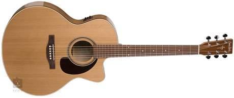 SIMON & PATRICK CW GT Mini Jumbo Cedar A3T Elektroakustická kytara