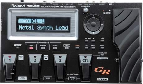 ROLAND GR 55S BK Kytarový syntezátor
