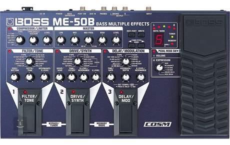 BOSS ME 50B Baskytarový multiefekt