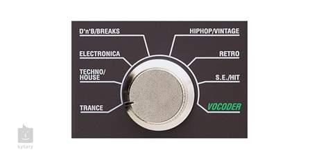 KORG microKORG Syntezátor, vokodér