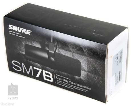 SHURE SM7B Dynamický mikrofon