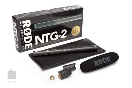 RODE NTG-2 Mikrofon pro kameru