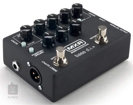 DUNLOP MXR M80 Bass D.I. + Baskytarový předzesilovač a DI Box