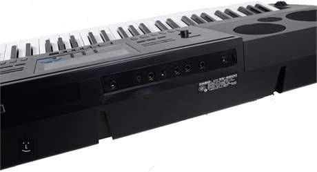 CASIO WK-6600 Klávesy s dynamikou úhozu