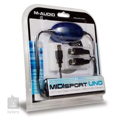 M-AUDIO MIDISPORT UNO MIDI převodník
