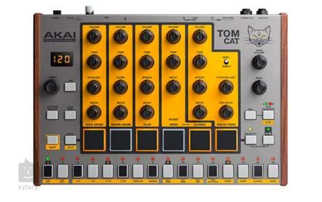 AKAI Tom Cat Bicí syntezátor, sekvencer