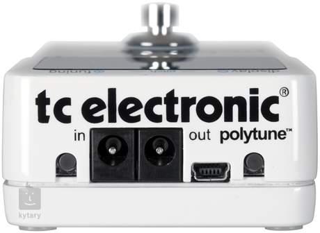 TC ELECTRONIC Polytune 2 Mini Pedálová ladička