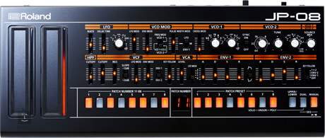 ROLAND JP-08 Virtuální analogový syntezátor
