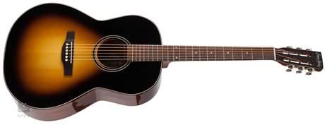 SIMON & PATRICK Woodland Pro Folk Sunburst HG A3T Elektroakustická kytara