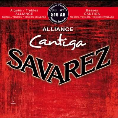 SAVAREZ Alliance Cantiga 510AR Nylonové struny pro klasickou kytaru