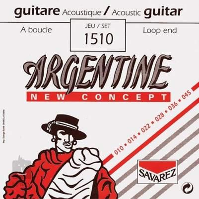 SAVAREZ 1510 Kovové struny pro akustickou kytaru