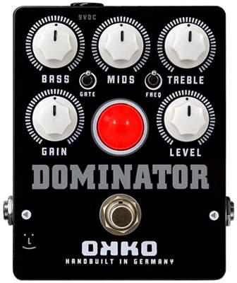 OKKO Dominator MKII Black Kytarový efekt