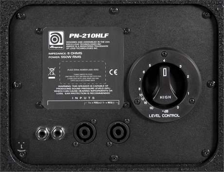 AMPEG PN-210HLF (použité) Baskytarový reprobox