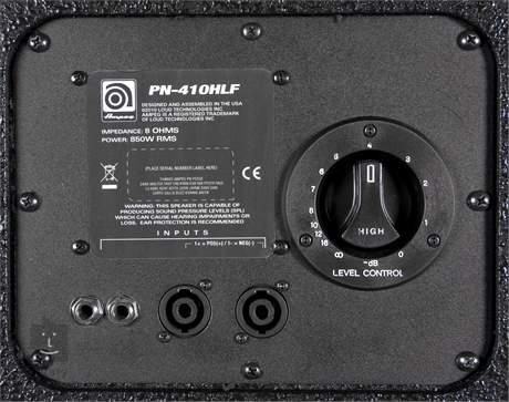 AMPEG PN-410HLF (poškozené) Baskytarový reprobox