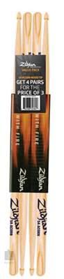 ZILDJIAN 5A Acorn Wood tip set Zvýhodněný set hickorových paliček
