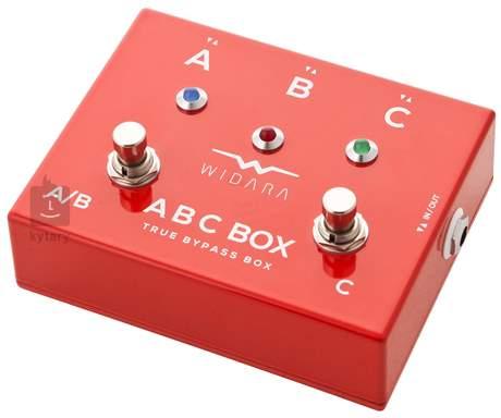 WIDARA ABC Box Red Signálový přepínač