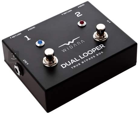 WIDARA Dual Looper Black Signálový přepínač