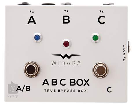 WIDARA ABC Box White Signálový přepínač