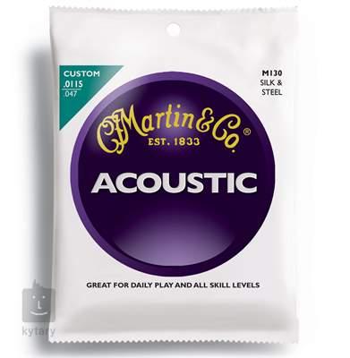 MARTIN M 130 Kovové struny pro akustickou kytaru