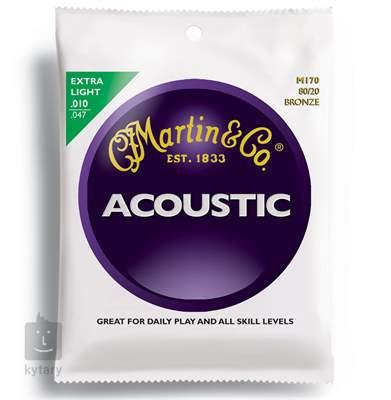 MARTIN M 170 Kovové struny pro akustickou kytaru