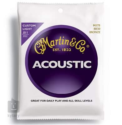 MARTIN M 175 Kovové struny pro akustickou kytaru