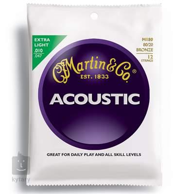 MARTIN M 180 Struny pro dvanáctistrunnou kytaru