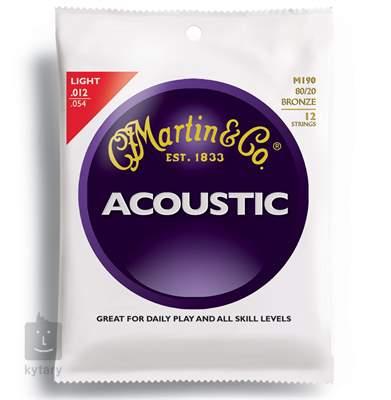 MARTIN M 190 Struny pro dvanáctistrunnou kytaru