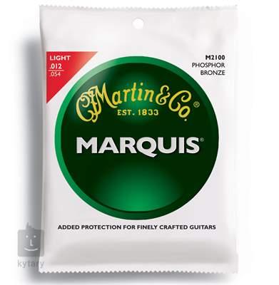 MARTIN M 2100 Kovové struny pro akustickou kytaru