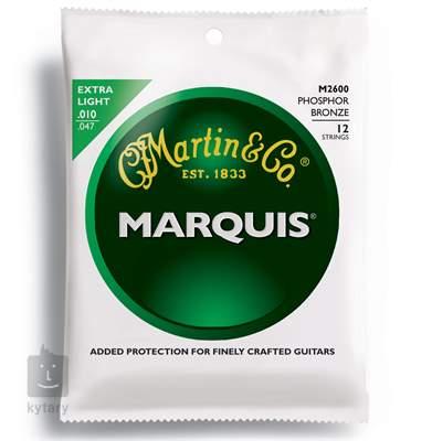 MARTIN M 2600 Struny pro dvanáctistrunnou kytaru