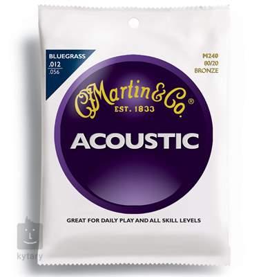 MARTIN M 240 Kovové struny pro akustickou kytaru