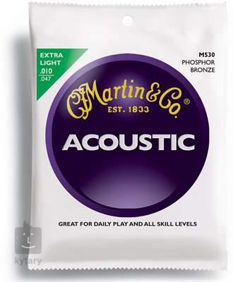 MARTIN M 530 Kovové struny pro akustickou kytaru