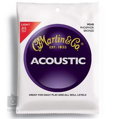 MARTIN M 540 Kovové struny pro akustickou kytaru