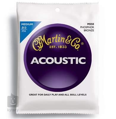 MARTIN M 550 Kovové struny pro akustickou kytaru