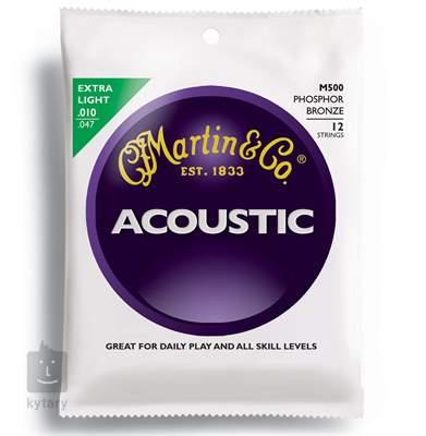 MARTIN M 500 Struny pro dvanáctistrunnou kytaru