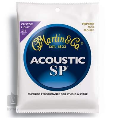 MARTIN MSP 3050 Kovové struny pro akustickou kytaru