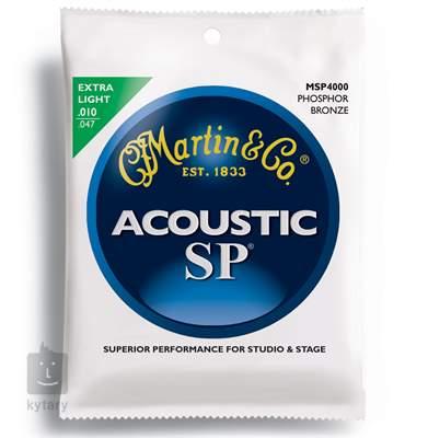 MARTIN MSP 4000 Kovové struny pro akustickou kytaru