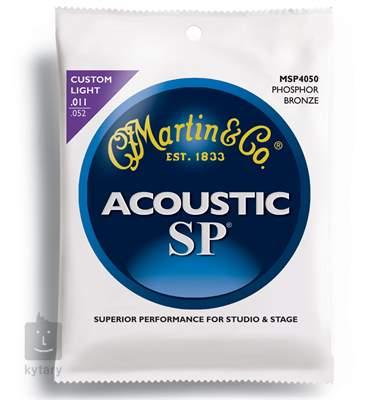 MARTIN MSP 4050 Kovové struny pro akustickou kytaru