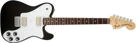 FENDER Chris Shiflett Telecaster Deluxe RW BLK Elektrická kytara