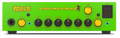 MARKBASS Little Mark Ninja Baskytarový tranzistorový zesilovač