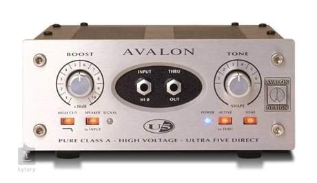 AVALON U5 Nástrojový D.I. předzesilovač