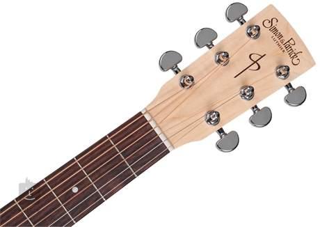 SIMON & PATRICK Trek Natural Folk Solid Spruce SG Isyst Elektroakustická kytara