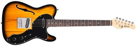 JAY TURSER JT-LTCRUSDLX-ANS Elektrická kytara