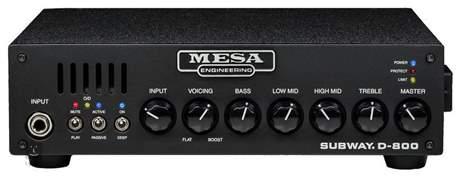 MESA BOOGIE Subway D-800 Baskytarový tranzistorový zesilovač